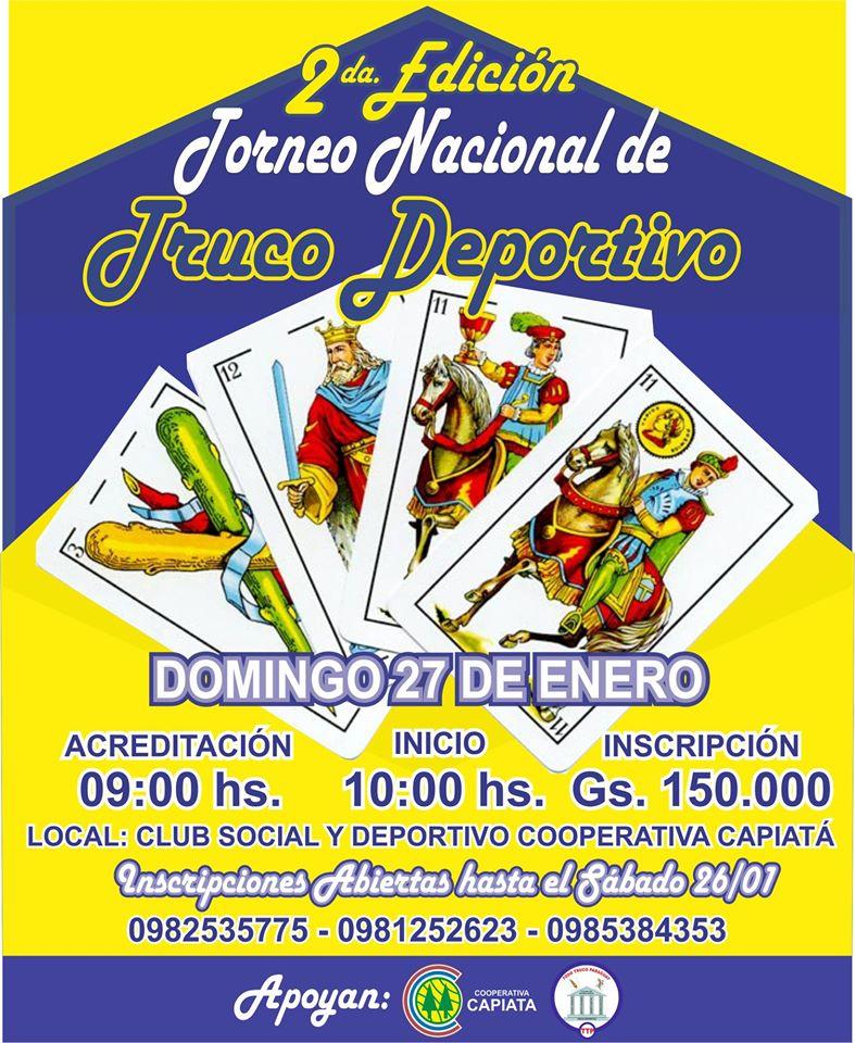 Torneo Nacional de Truco deportivo