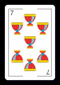7 de Copas - Naipes ASART