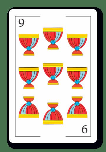 9 de Copas - Naipes ASART