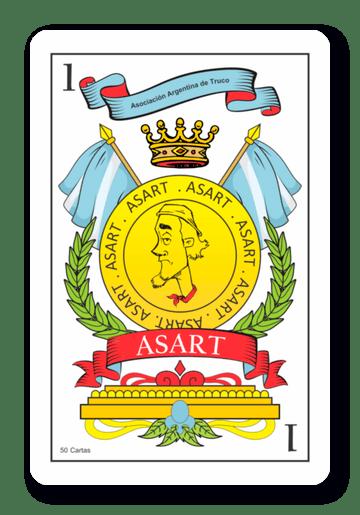 1 de Oros - Naipes ASART