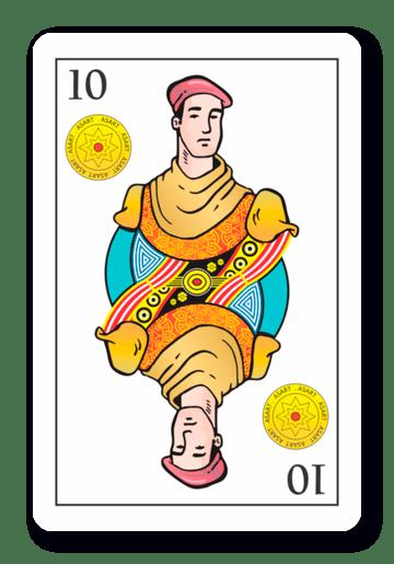 10 de Oros - Naipes ASART