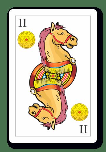 11 de Oros - Naipes ASART