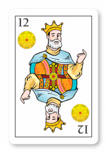 12 de Oros - Naipes ASART