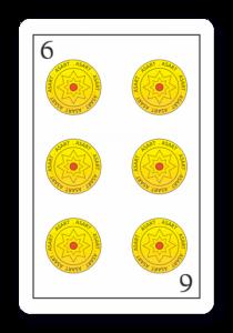 6 de Oros - Naipes ASART