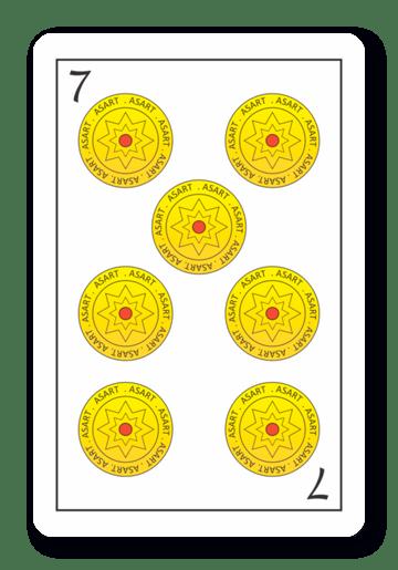 7 de Oros - Naipes ASART