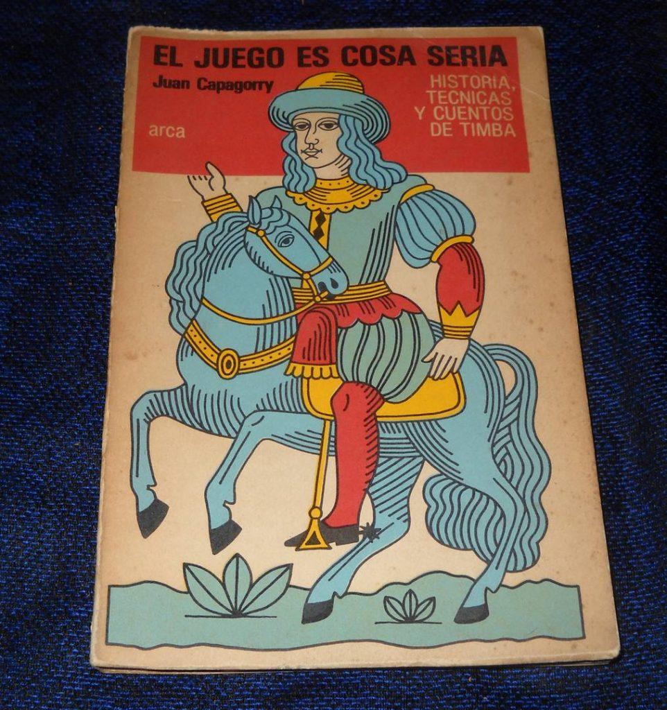 «El juego es cosa seria», de Juan Capagorry, un libro clásico popular ofrecido en Buenos Aires